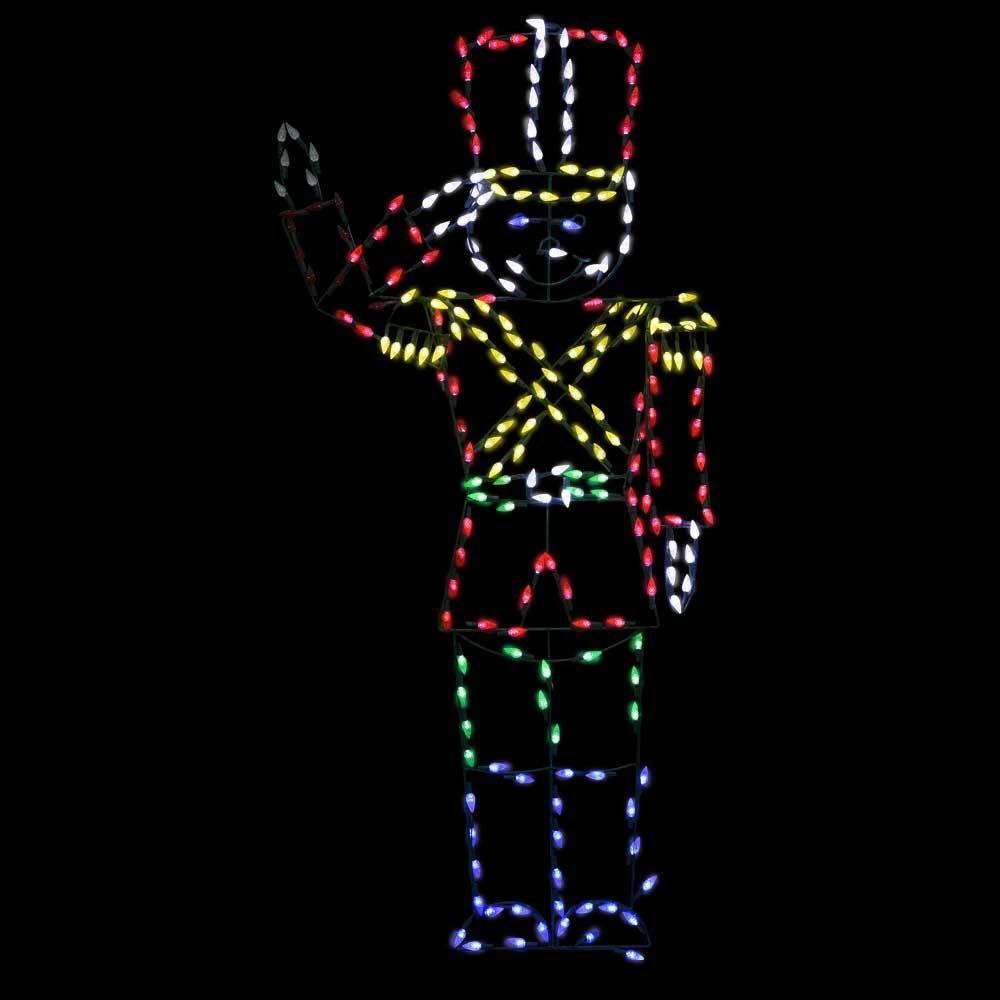 Tis Your Season | Life size LED Animated Toy Soldier ...