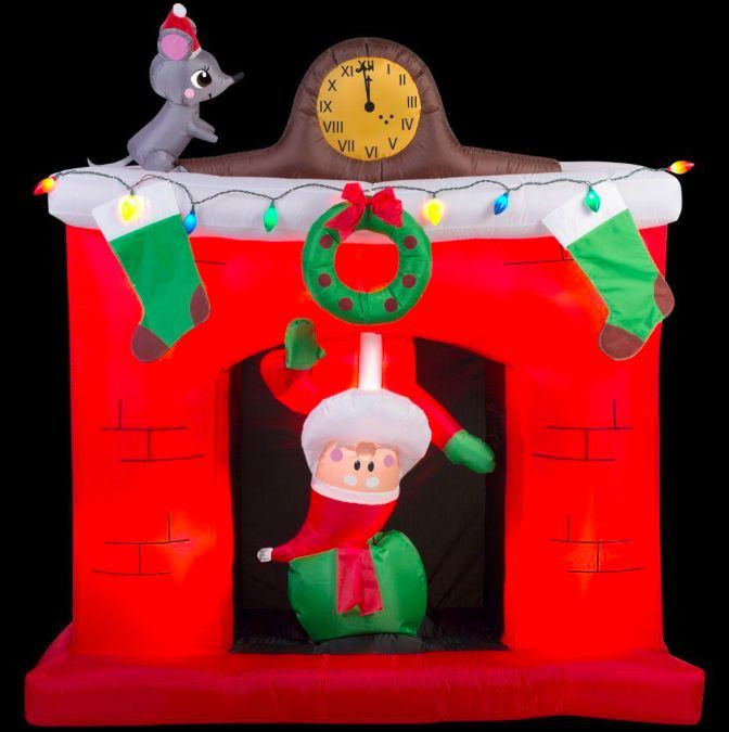 Tis Your Season 5 5 Animated Santa Popping Out Of The