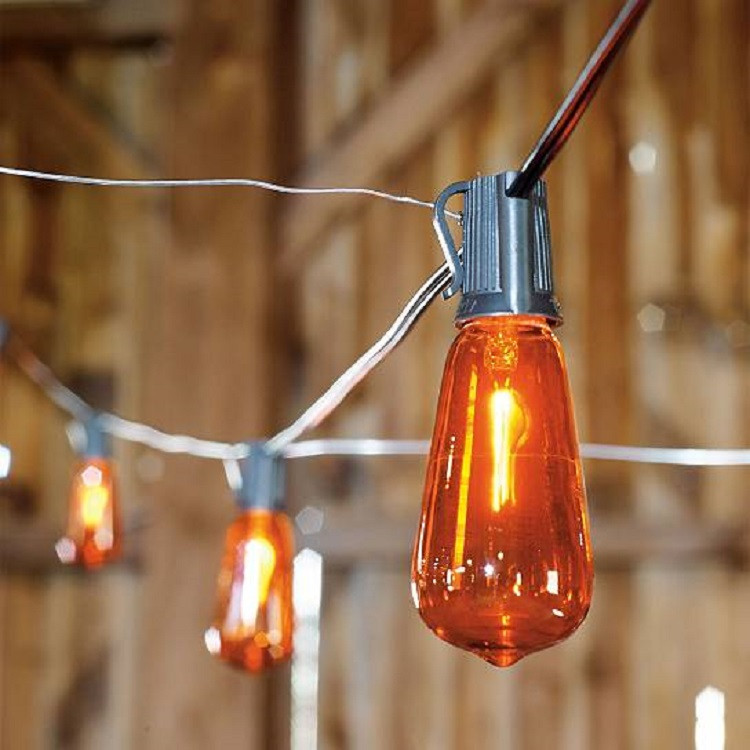flicker flame edison light bulbs halloween lights