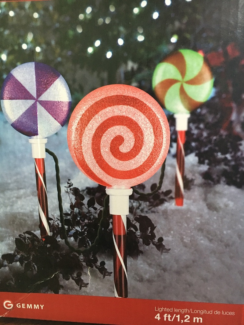 Tis Your Season Gemmy Lollipop Christmas Lights