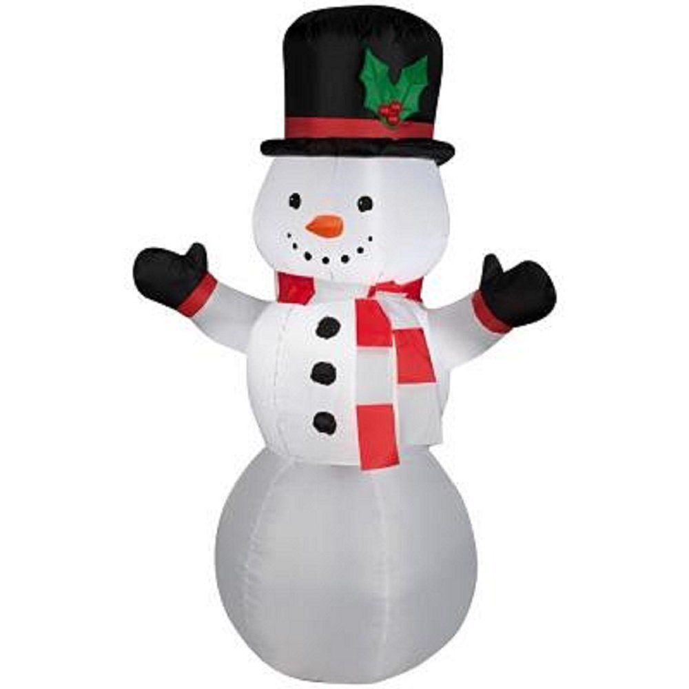 Tis Your Season | 3.5\' Snowman LED Airblown Inflatable Outdoor ...