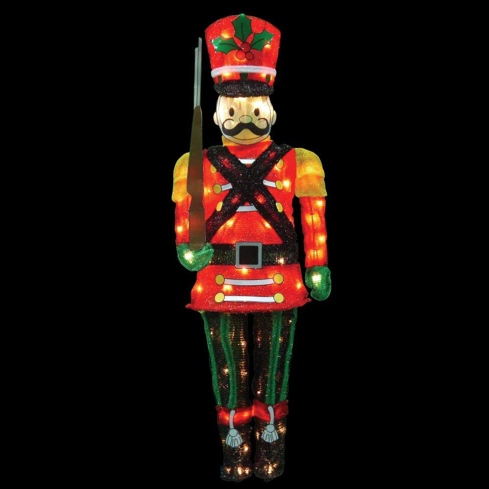 60 In. Candy Cane Lane LED Pre-Lit Toy
