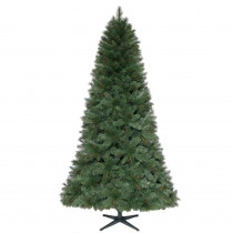 7.5 ft. Unlit Wesley Mixed Spruce Artificial Christmas Tree