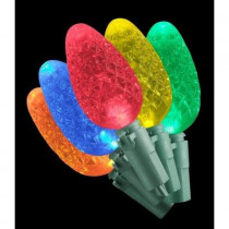 35 LED C6 Lights Multi-Color Christmas Lights
