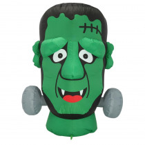 4' Frankenstein Monster Head Airblown Inflatable