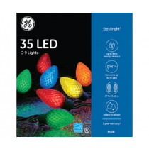 GE C9 LED Multi-Color 35 Light Set