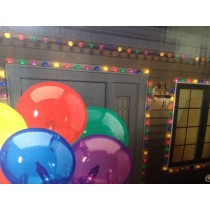 GE 100 Globe Style Multi Color Christmas Lights