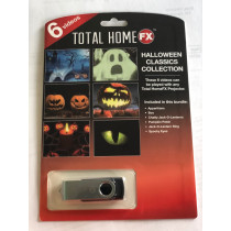 Total Homefx Video Projector Halloween Series - Halloween Classic Collection
