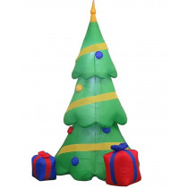 6.5ft Inflatable Airblown Christmas Tree with Gift Boxes