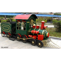 Iron Christmas Train with Cart