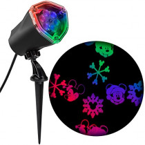 Gemmy Mickey Mouse Fantastic Flurry LED Projection Spotlight