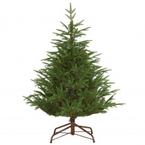 4.5 ft. FEEL-REAL Fraser Grande Hinged Unlit Artificial Christmas Tree