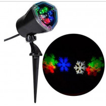 Lightshow Projection Snowflurry Multi-Color