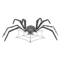 48 in Animated Spider Halloween Decoration