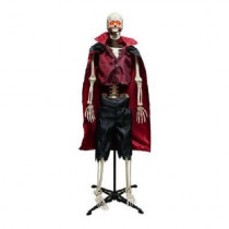 "63"" Poseable Vampire Skeleton with Adjustable Stand"