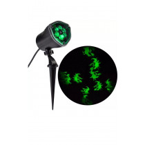 Chasing Green Witch Strobe Spotlight