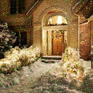 Night Stars Deluxe Landscape Lighting Laser Christmas Lights
